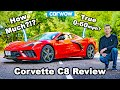 2020 Corvette C8 Review: See How Quick It Is 0 60mph + 1/4mile... And The Shocking Uk Price!