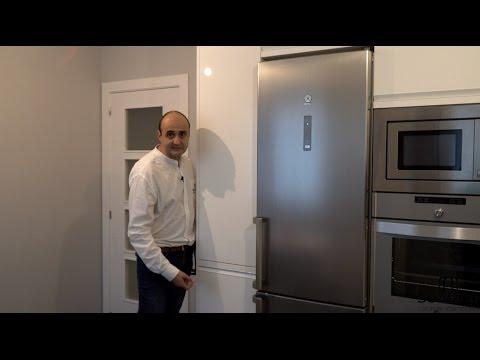 Video de cocinas blancas modernas en forma de l sin for Muebles de cocina suarco