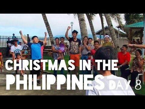 Philippines Vlog Day 8: CHRISTMAS IN THE PHILIPPINES!!