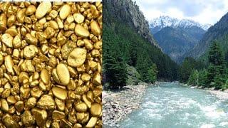 उत्तराखंड में गंगा नदी के किनारे मिली सोने की खान