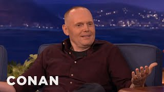 When Bill watches a game, he doesn't need constant reminders about human misery. More CONAN @ http://teamcoco.com/video Team Coco is the official ...