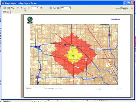 Reporting Tools with ArcGIS Business Analyst