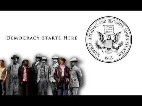 Democracy Starts Here: What's in the National Archives?