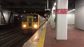 JR九州 元日の真夜中を走る列車