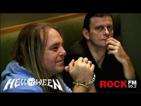 HELLOWEEN interview for ROCK FM Moscow 2015