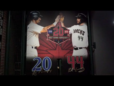 20th Anniversary Experience exhibit at Chase Field
