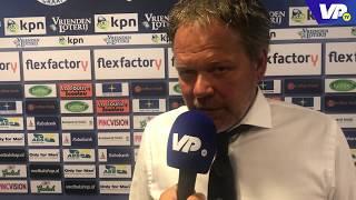 Henk de Jong: ''Met ons publiek kunnen we tot grote hoogtes komen''