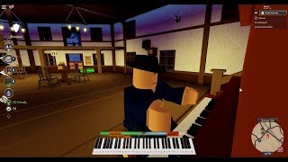 Jouer The Entertainer On A Roblox Wild West Saloon Piano