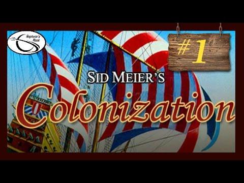 Sid Meier's Colonization (DOS) - Episode 1