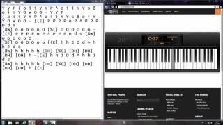 Imagine Dragons - Demons [Virtual piano]