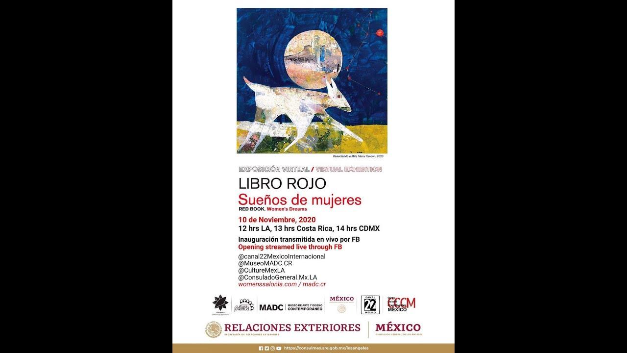 Inauguración virtual de la exhibición Libro Rojo 10 de noviembre
