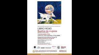 inauguración virtual de la exhibición Libro Rojo: 10 de noviembre