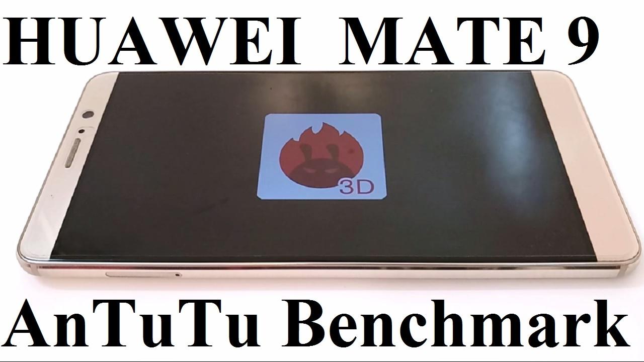 Huawei Mate 9 in the Benchmark