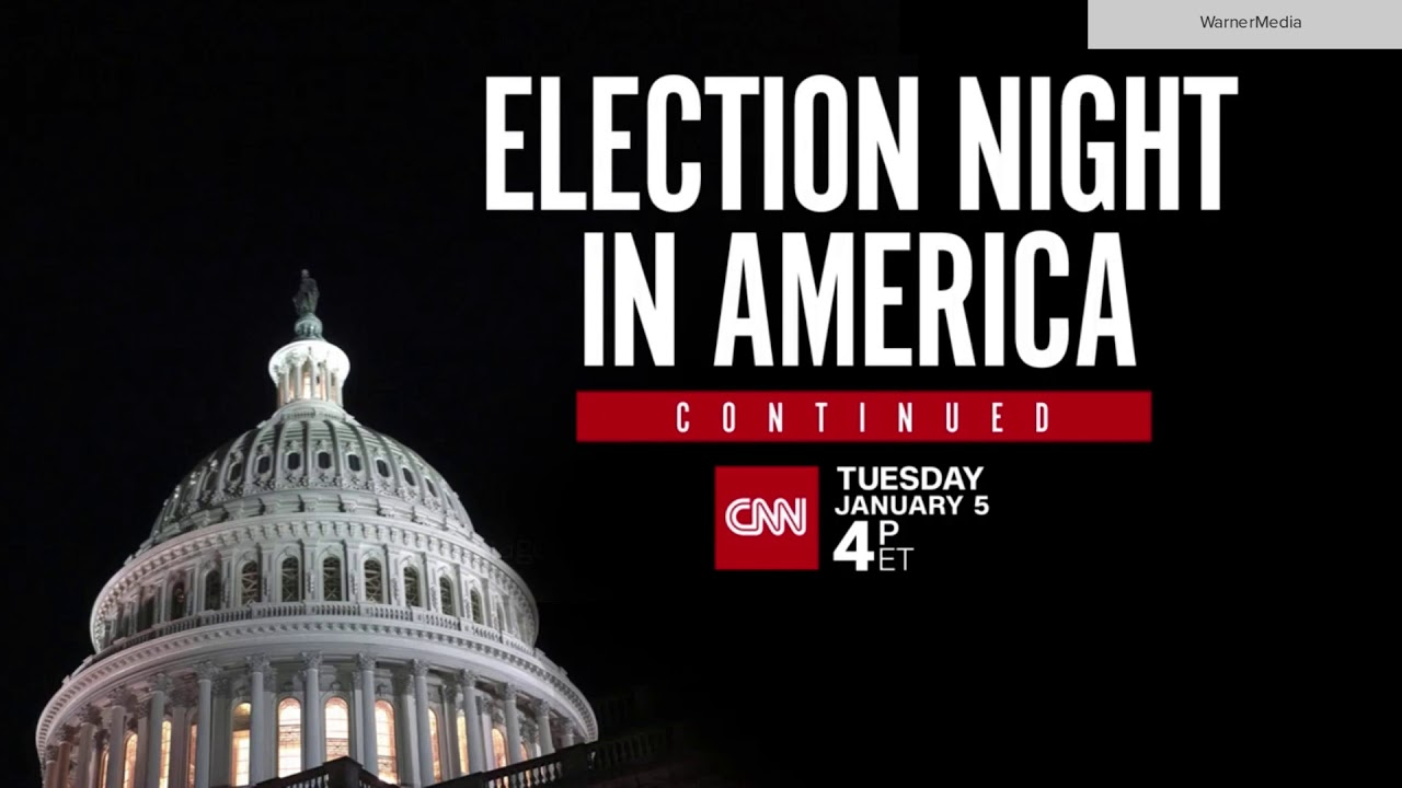 CNN 'Election Night in America Continued' promo