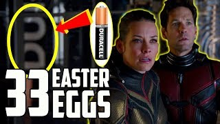 Ant Man & the Wasp Trailer Easter Eggs: Avengers 4 Connections