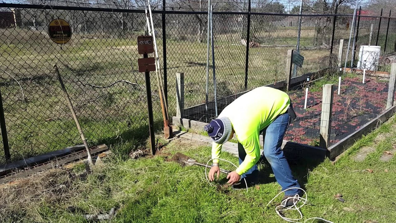 How To Fix Cut Phone Cable Line In Yard Youtube Outdoor Box Wiring