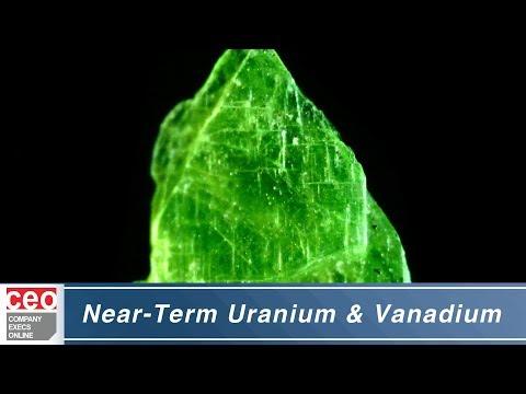 Near-Term Uranium and Vanadium Producer - Western Uranium
