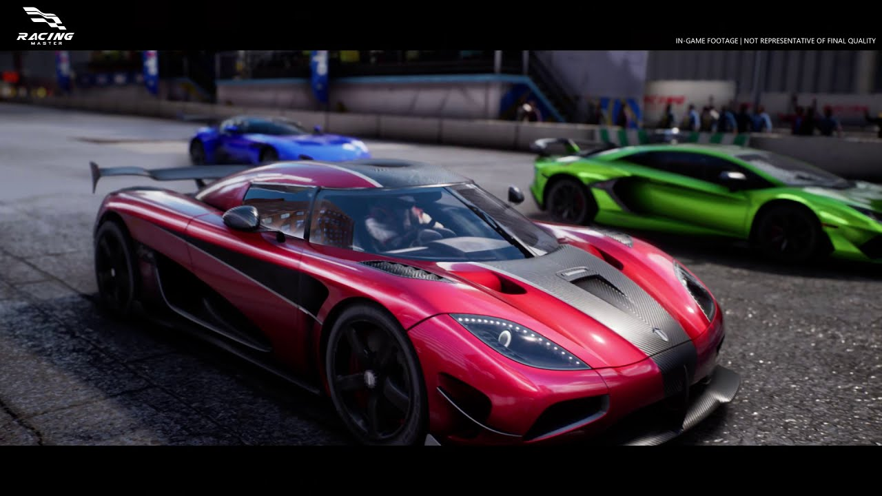 Racing Master Official Trailer