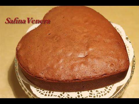Шоколадный бисквит с медом, воздушный без соды и разрыхлителя. Очень вкусный!