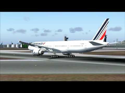 AF842 777-300ER AIR FRANCE PARIS ORLY - FORT DE FRANCE