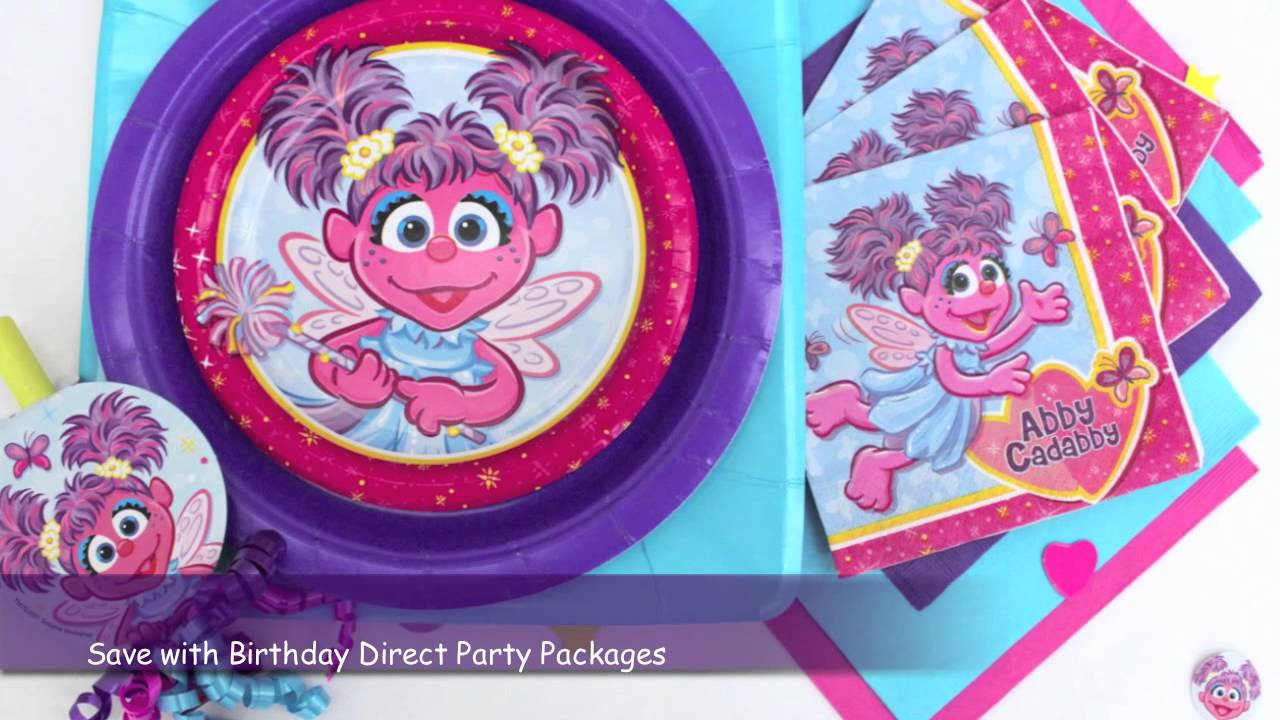 Abby Cadabby Party Decorations Abby Cadabby Party Supplies Youtube