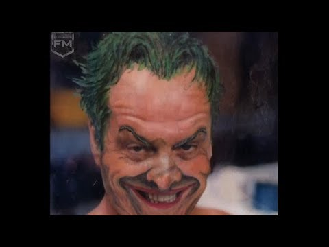 Makeup The Joker (Jack Nicholson) 'Batman' Behind The Scenes'Batman' Behind The Scenes