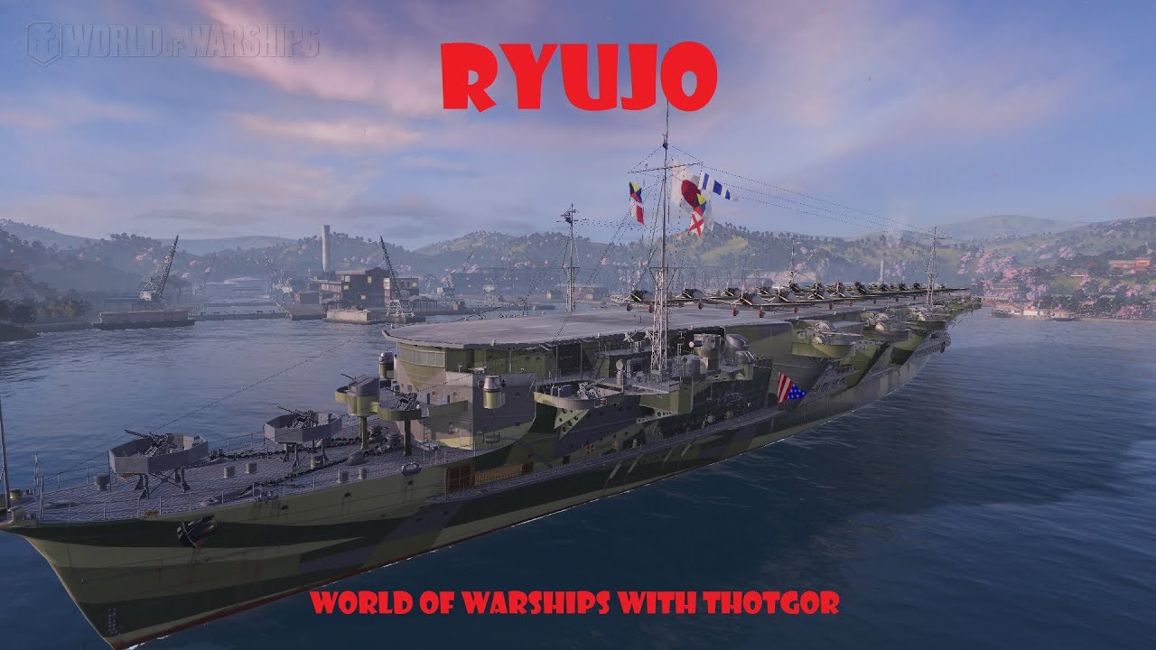 world of warships- ryujo
