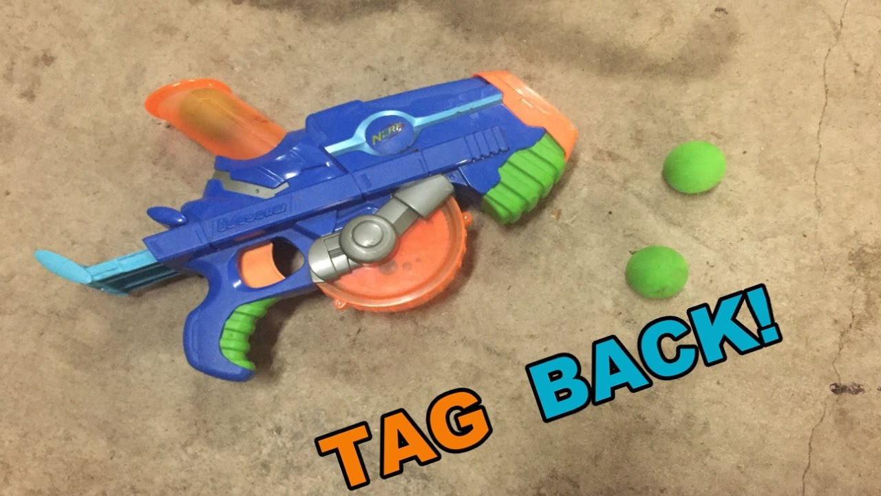 Tag back nerf buzzsaw blaster ballistic ball shooter youtube nerf buzzsaw blaster ballistic ball shooter youtube sciox Image collections