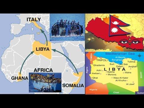 NEPAL, LIBYA TO ITALY