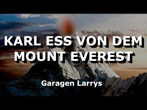 KARL ESS VON DEM MOUNT EVEREST (SONG)