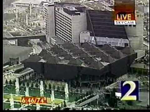 Omni Arena Atlanta Implosion July 26, 1997 Part 2 WSB
