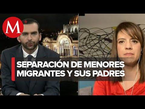 Entrevista, Eunice Rendon. 545 menores migrantes sin su padres