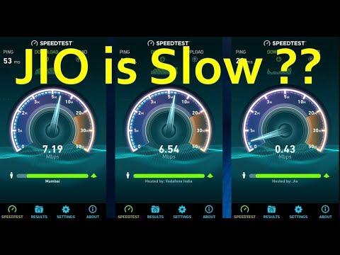 JIO 4G VS Airtel 4G Vs BSNL 3G Real Speedtest Chandigarh, You Will Be Surprised |