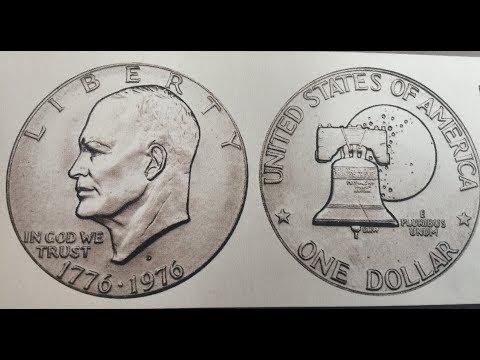Valor De La Moneda De $1 Bicentenario Con Doble Fecha 1776-1976