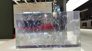 Un écran OLED totalement  transparent ! Panasonic (PP WORLD)