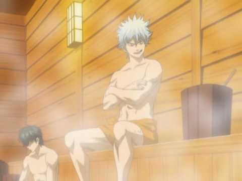 Image result for anime sauna
