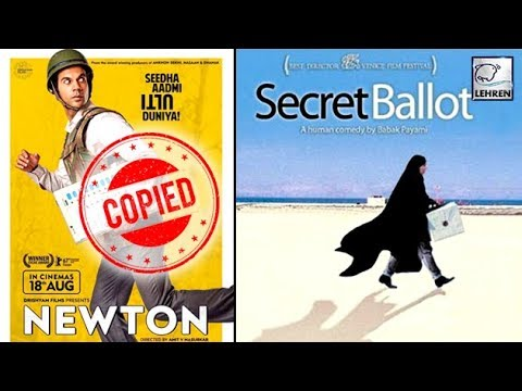 Newton Is A COPY Of 2001's Foreign Movie Secret Ballot? | LehrenTV