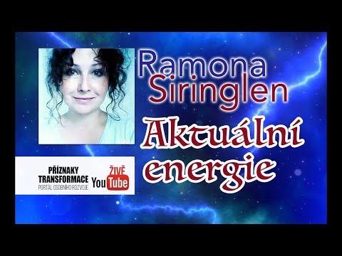 Ramona Siringlen - Aktuální energie transformace (repríza pořadu)