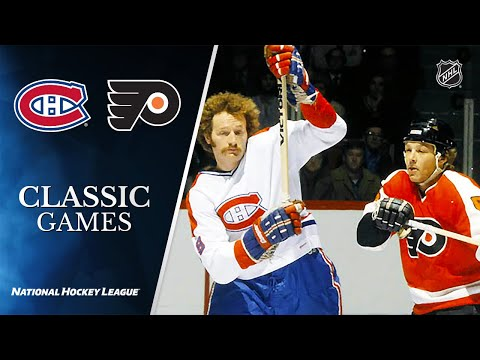 NHL Classic Games: 1976 MTL Vs. PHI, Stanley Cup Final, Gm 4