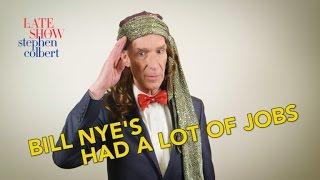 Bill Nye's Had A Lot Of Jobs