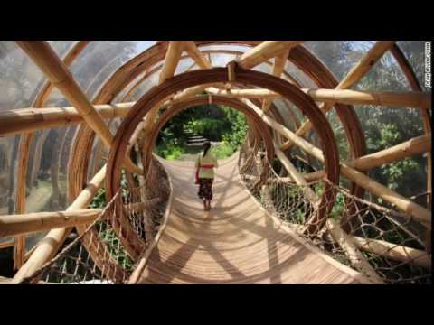Bali Simple Bamboo House Design - Great Bamboo House  - Beautiful Bamboo Home Design in bali