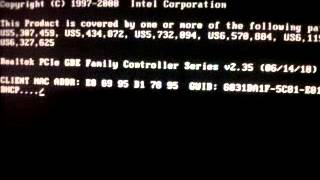 PXE-E53 No boot filename recieved Problem