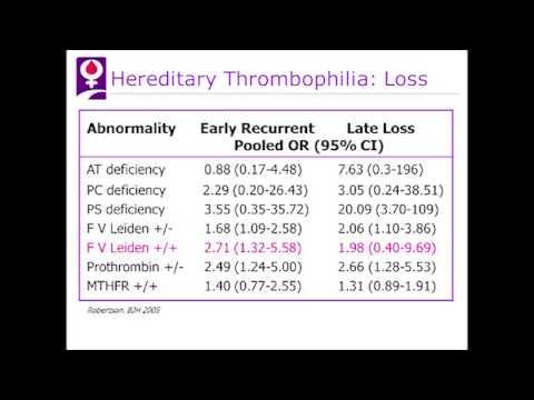 Presentation #4: Case 4 Homozygous Factor V Leiden with No Thrombosis