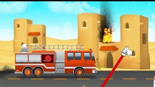 Firefighter | fire truck games for kids | level 1-5 screenshot 1