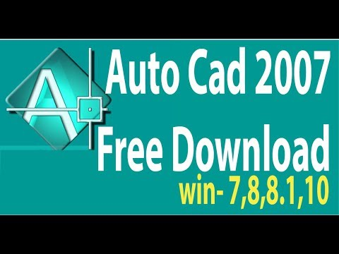 Download autocad 2007 free full version crack 64-bit