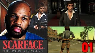 Scarface the World Is Yours Gameplay Walkthrough PART 1  - Mansion Shootout