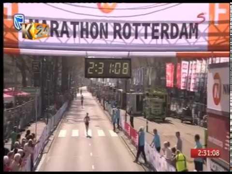 Paul Lonyangata wins 41st Paris marathon as wife Purity wins women's race