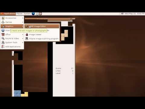 Linux History - Ubuntu 5.10 Live CD