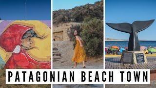 BEACH TOWN IN PATAGONIA | Visiting Puerto Piramides on Valdes Peninsula | Chubut, Argentina