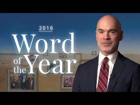 2016 Word of the Year: Behind the Scenes
